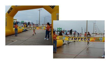 Ilse Guerrero y José Luis Doctor, ganadores del 4o. Circuito Nacional de Caminata Coatzacoalcos 2020