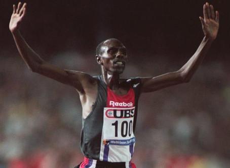 El 25 aniversario de la histórica hazaña de Kiptanui al correr debajo de los ocho minutos