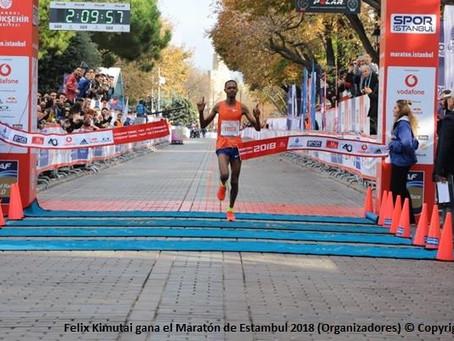 Zewdu y Chemtai lideran la prueba para el Maratón de Estambul este 8 de noviembre