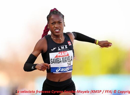 Samba-Mayela acelera a 12.73 en el Campeonato de Francia, Veszelka sorprende a Taylor en Samorin