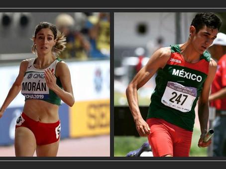 Paola Morán y Valente Mendoza inician temporda 2021 compitiendo en E.E.U.U.