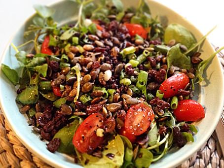 Puy Lentil & Raisin Salad