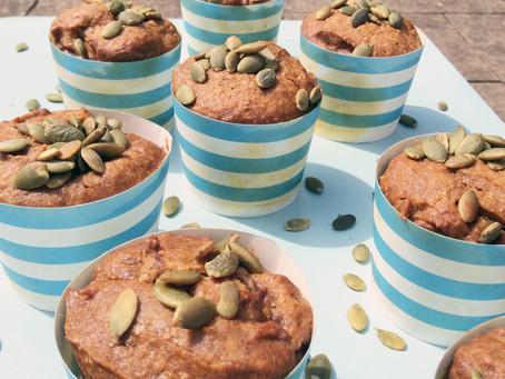 Sweet Pumpkin breakfast muffins