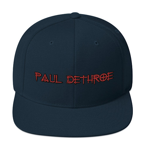 Paul DeThroe 1 Snapback Hat