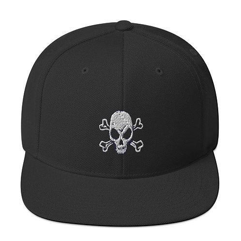 DTP Skull Snapback Hat