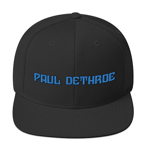Paul DeThroe TDG Snapback Hat