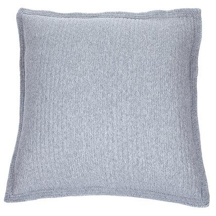 Suite grey quilted european sham