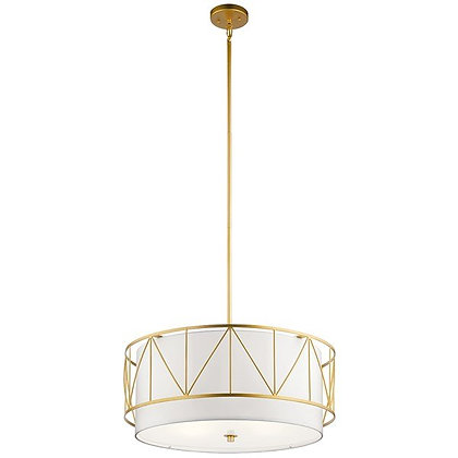 Birkleigh™ Pendant with Satin Etched Glass