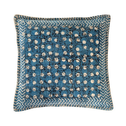 20x20 Global Indigo Pillow