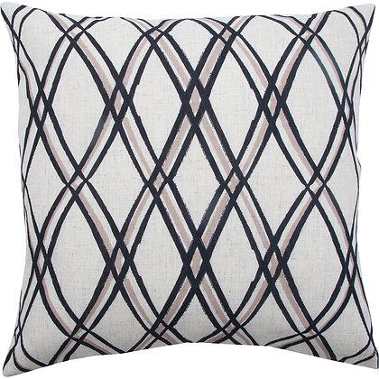 Crisscross Throw Pillow
