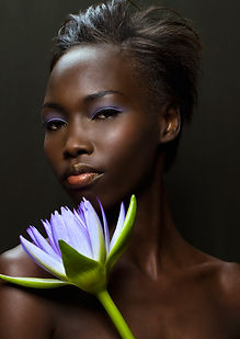 beautiful dark skin