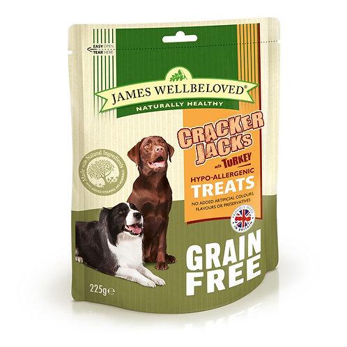 James Wellbeloved Crackerjacks Grain Free Dog Treat