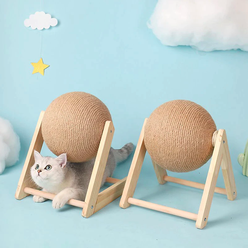 Cat Scratching Ball Toy