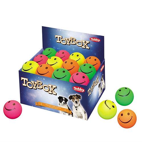 Nobby Foam Rubber Smiley Balls