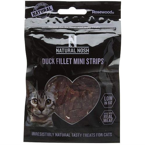 Rosewood Natural Eats Cat Duck Fillet Mini Strips