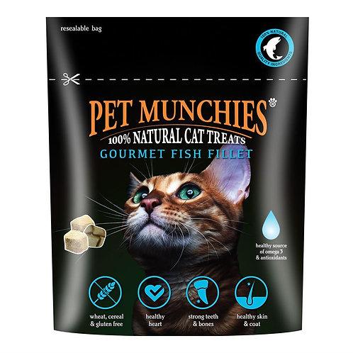 Pet Munchies Gourmet Fish Fillet Natural Cat Treat