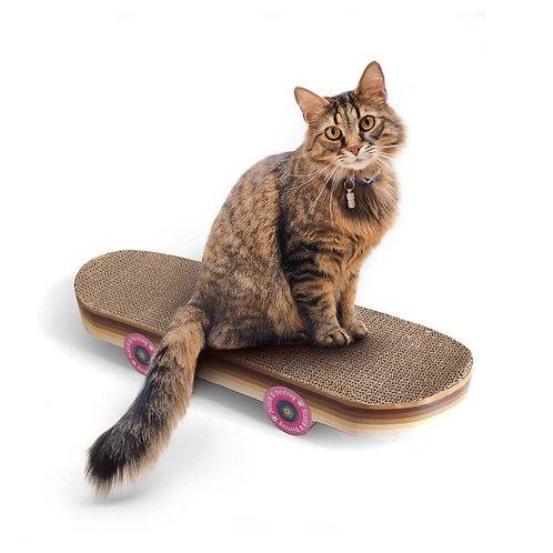 Cat Scratch Skateboard – a scratch toy they'll 'wheely' love