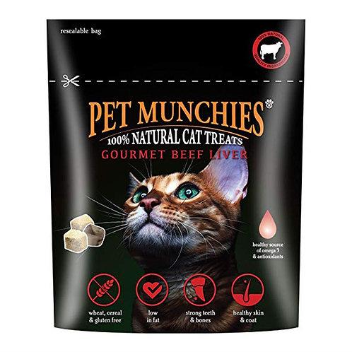 Pet Munchies Gourmet Beef Liver Natural Cat Treat