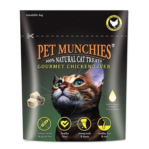 Pet Munchies Gourmet Chicken Liver Natural Cat Treat