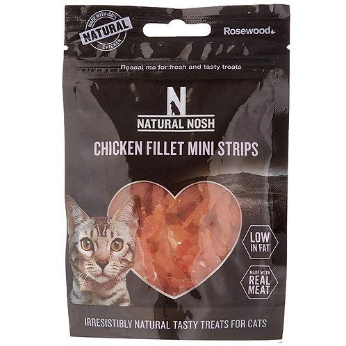 Rosewood Natural Eats Cat Chicken Fillet Mini Strips