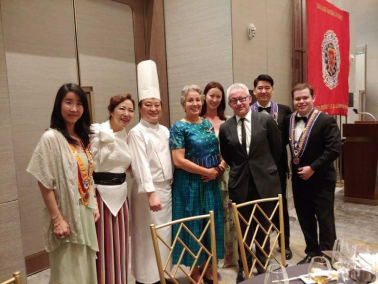 - Chaine de Rotisseurs dinner hosted by the Signiel Hotel