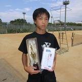 中学男子準優勝