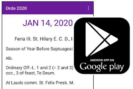 Ordo 2020: Mobile App
