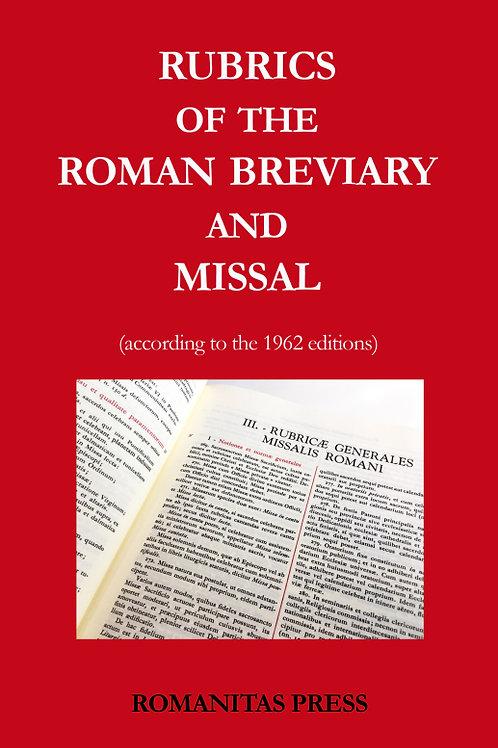 Rubrics of the Roman Breviary and Missal PDF BK