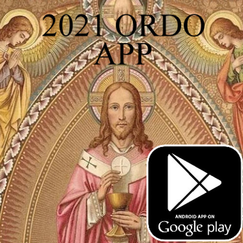 2021 Ordo Android App