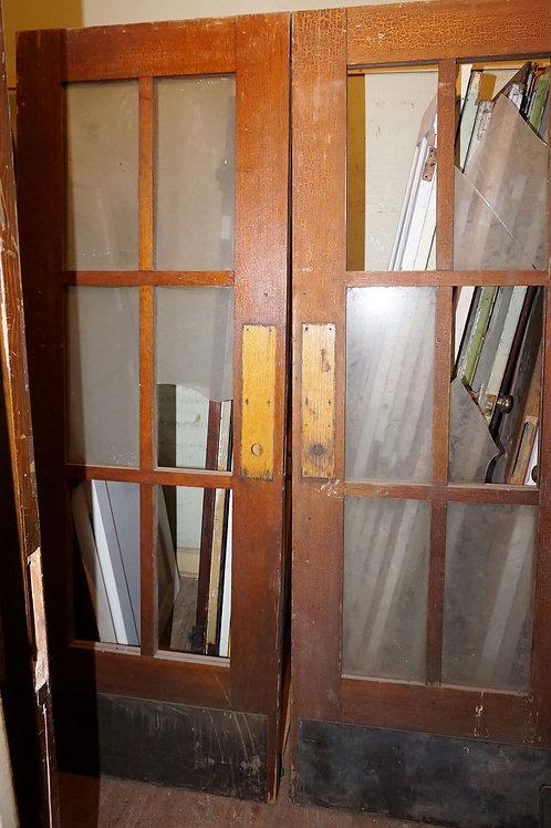 12 Light Double French Doors