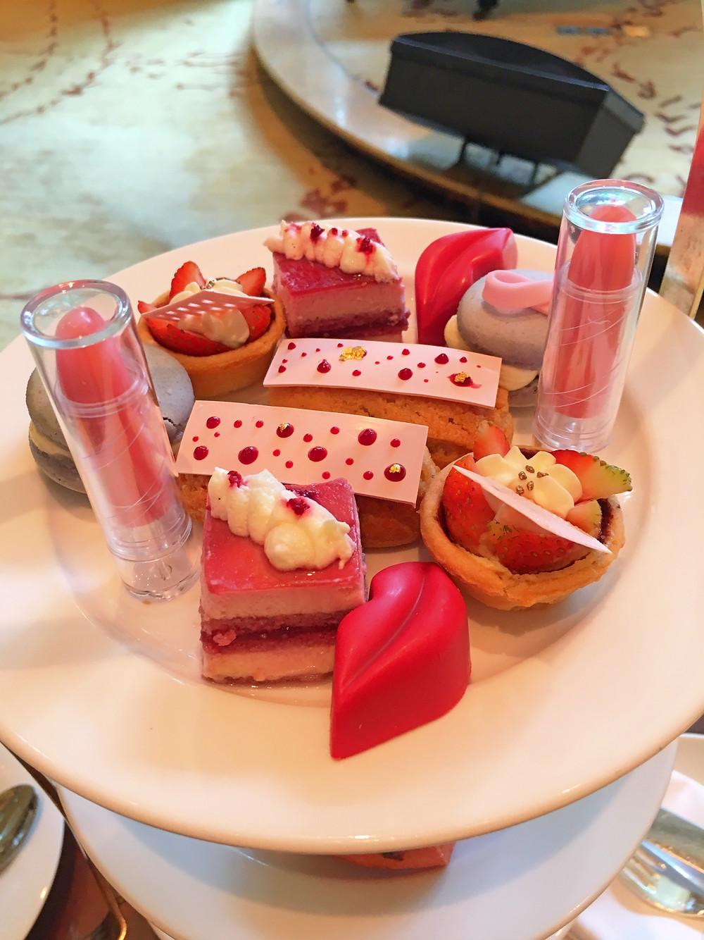Pink delights for afternoon tea at Shangri-La Kuala Lumpur