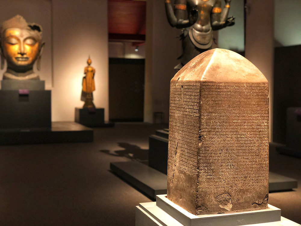Precious artefacts at Bangkok National Museum