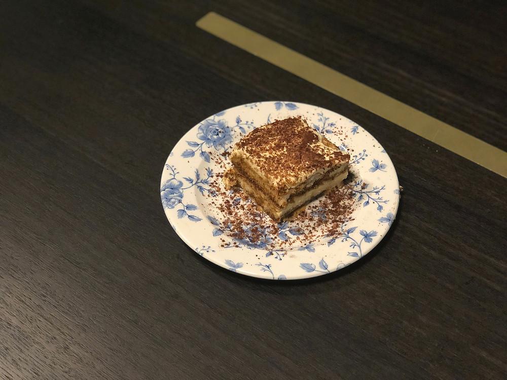 The Fantauzzo Brisbane Room Service - Tiramisu to end the perfect meal