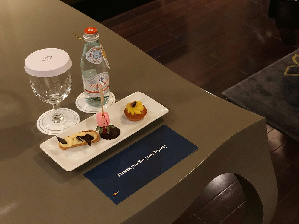 Prestige Suite - Sweet treats provided during turndown service