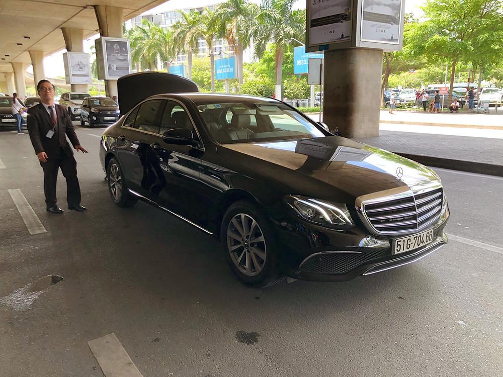 A limousine transfer to Sofitel Saigon Plaza is always welcome