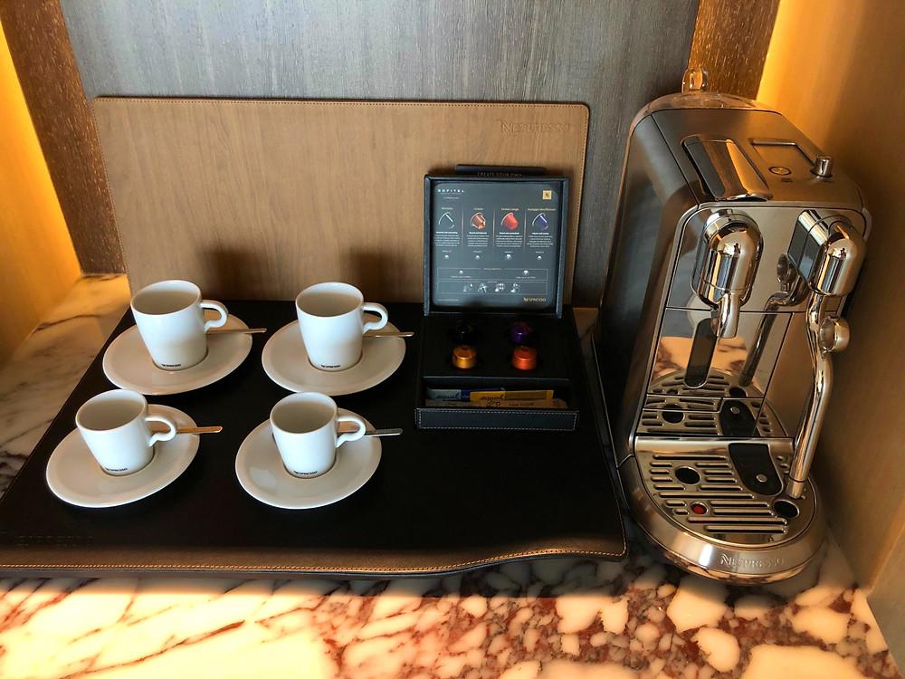 Prestige Suite - Our caffeine needs sorted