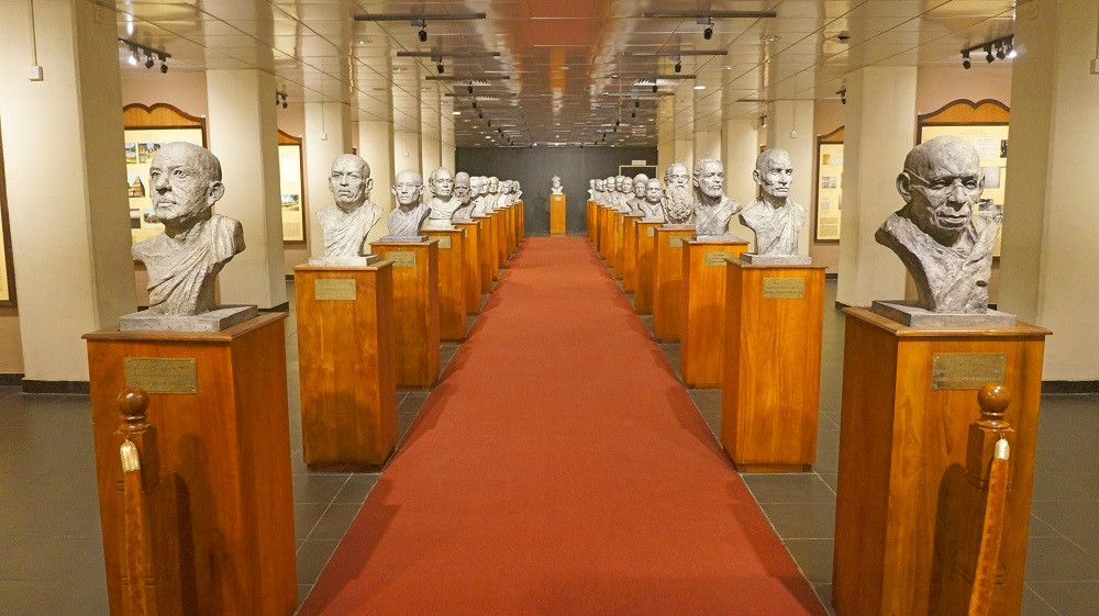 Inside the Independence Memorial Museum