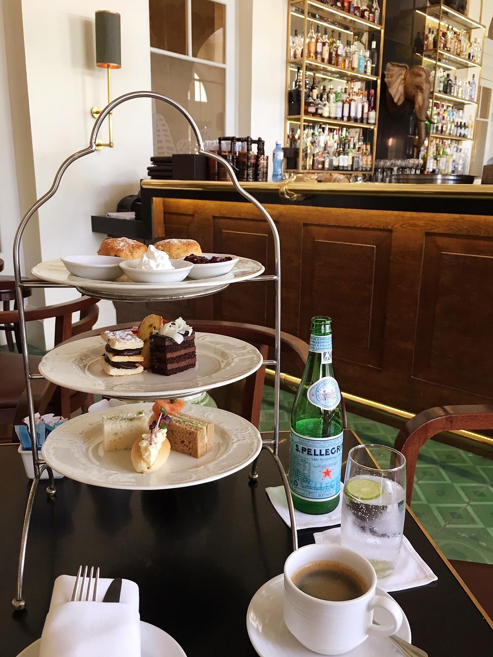 Afternoon tea at The Elephant Bar