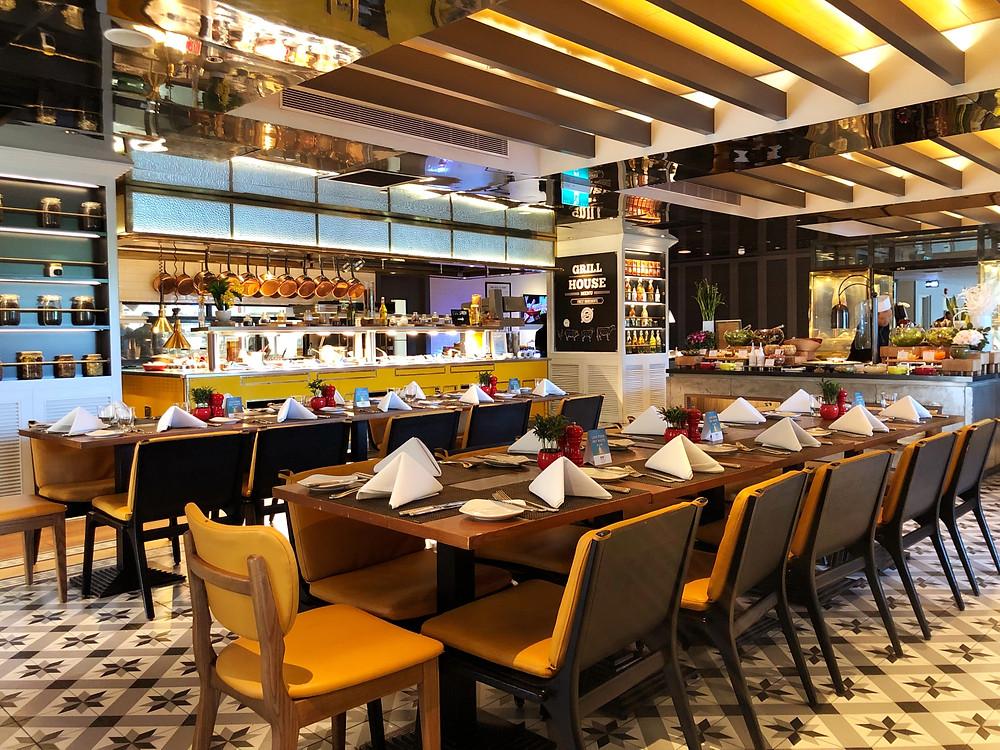 Mezz Restaurant is where breakfast is usually served at Sofitel Saigon Plaza