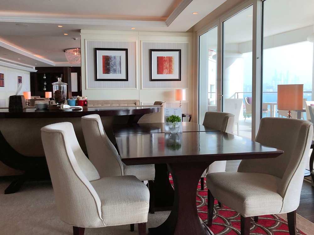 Pearl Club Lounge - Some comfortable seats at the lounge