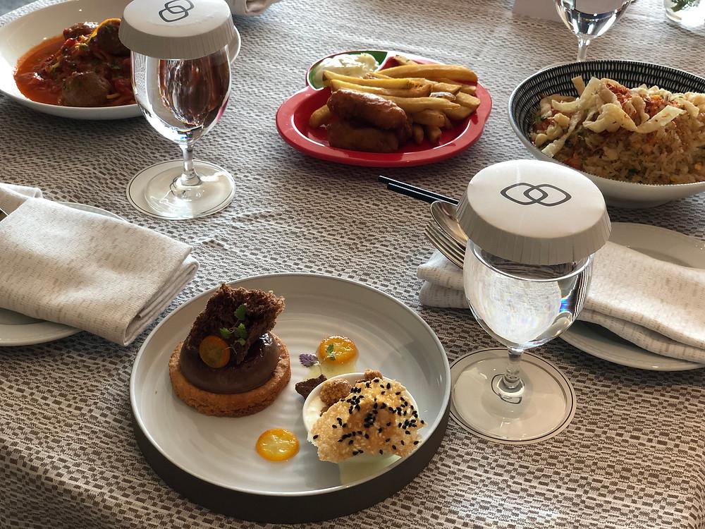 Sofitel Singapore City Centre Room Service - Dessert is always a must