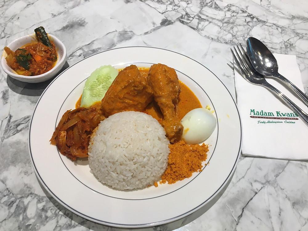 Nasi Lemak at Madam Kwan's