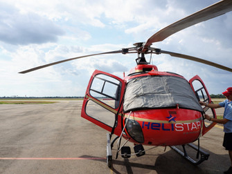 Helicopter Tour over Angkor Wat