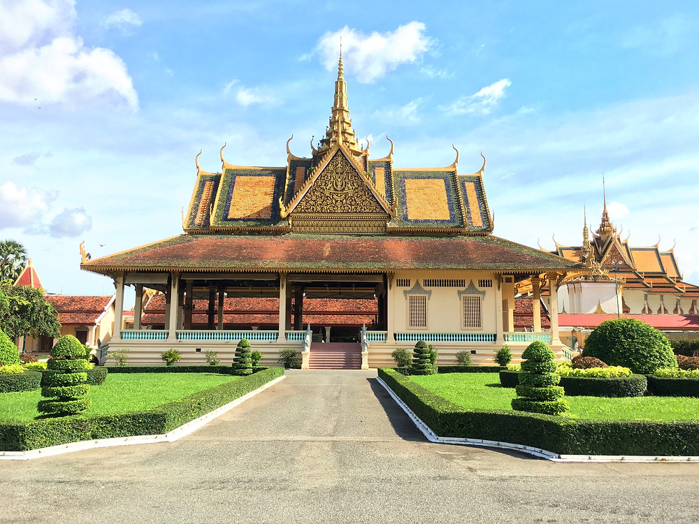 The Phochani Pavilion within the Royal Palace in Phnom Penh
