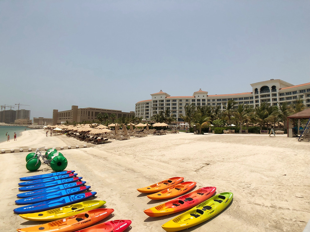 Water activities are available for guests' use at the private beach