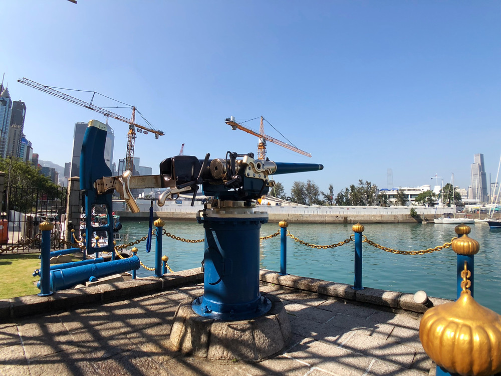 The famous Noonday Gun