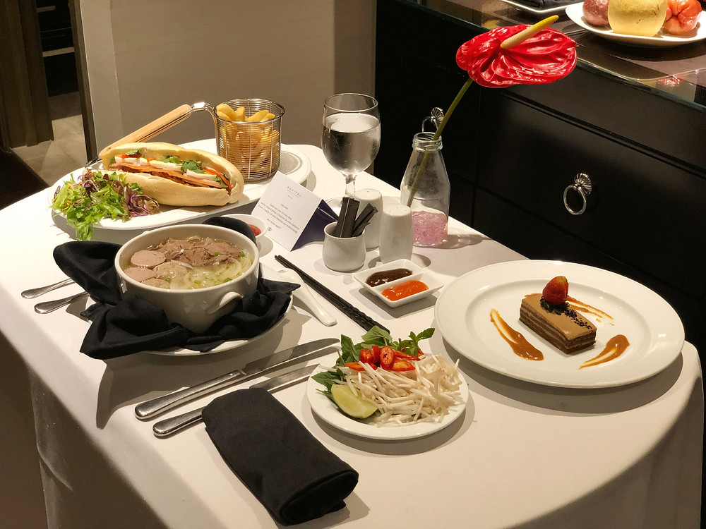 Sofitel Saigon Plaza Room Service - What's for dinner!