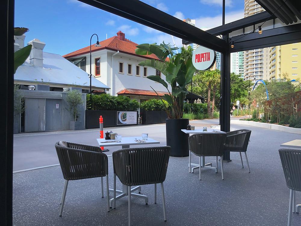 The Fantauzzo Brisbane - Al fresco seating available at Polpetta