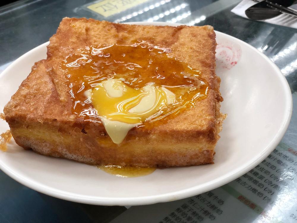 French Toast at Yee Shun Milk Company