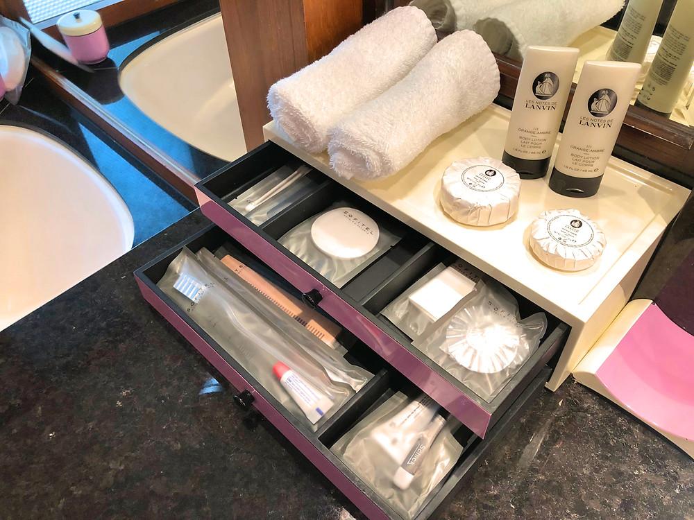 Prestige Suite - Lanvin toiletries available for use at Sofitel Singapore Sentosa Resort & Spa